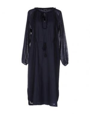 Платье до колена ANTIK BATIK. Цвет: темно-синий