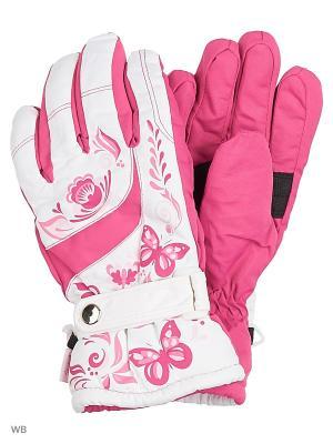 Перчатки Mini. Цвет: розовый