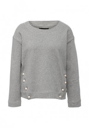 Свитшот Boutique Moschino. Цвет: серый