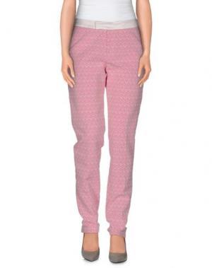 Повседневные брюки XANDRES. Цвет: светло-фиолетовый