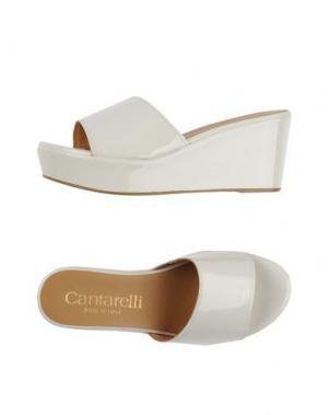 Сандалии CANTARELLI. Цвет: белый