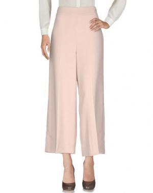 Повседневные брюки SET. Цвет: телесный