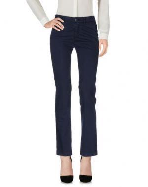 Повседневные брюки TAGLIATORE. Цвет: темно-синий