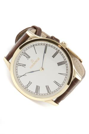 Наручные часы Essence. Цвет: желтый, коричневый