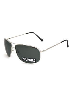 Cолнцезащитные очки Exenza. Цвет: зеленый