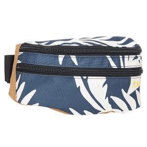 Сумка поясная  Classic Hip Pack Midnight Wailua Palm Dakine. Цвет: синий,белый,бежевый