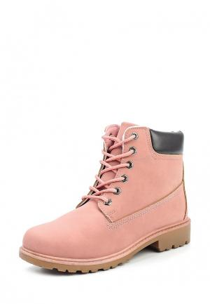 Ботинки Stephan. Цвет: розовый