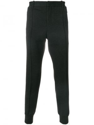 Зауженные брюки Wooyoungmi. Цвет: серый