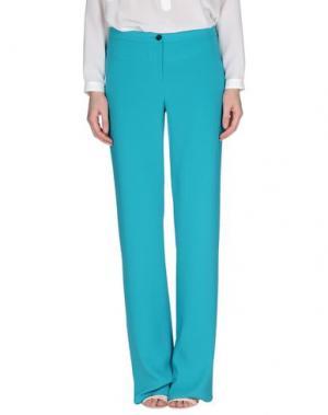 Повседневные брюки CAMILLA Milano. Цвет: бирюзовый