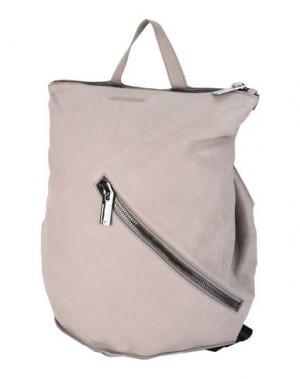 Рюкзаки и сумки на пояс EMPORIO ARMANI. Цвет: голубиный серый