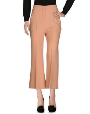 Повседневные брюки ROKSANDA. Цвет: охра