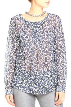 Блуза Pure. Цвет: синий