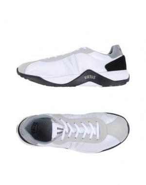 Низкие кеды и кроссовки VIRTUS PALESTRE. Цвет: белый
