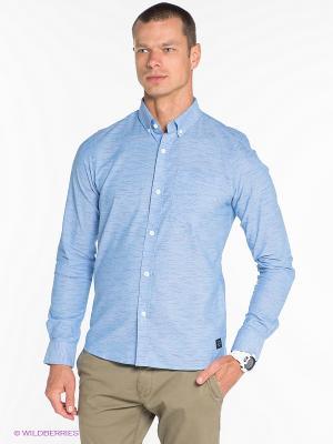 Рубашка OUTFITTERS NATION. Цвет: голубой