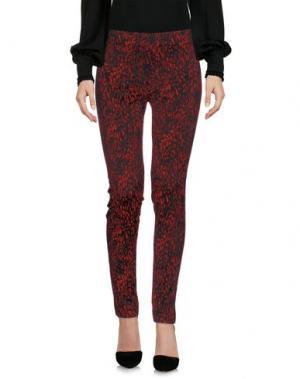 Повседневные брюки VIOLET ATOS LOMBARDINI. Цвет: красно-коричневый