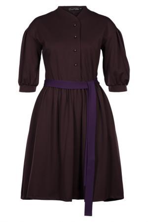 Платье SWEETME TM. Цвет: коричневый