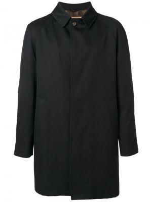 Пальто на пуговицах Sealup. Цвет: чёрный