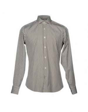 Pубашка GUGLIELMINOTTI. Цвет: зеленый