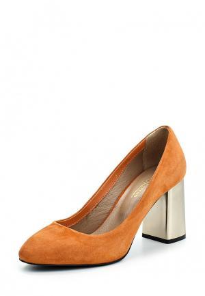 Туфли Hestrend. Цвет: оранжевый