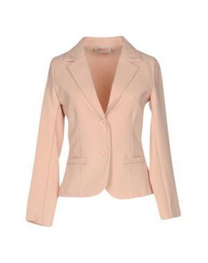 Пиджак KONTATTO. Цвет: светло-розовый