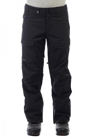 Штаны сноубордические  Util Stretch Black Quiksilver. Цвет: черный