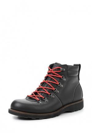 Ботинки HOLBROK Ecco. Цвет: черный