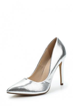 Туфли WS Shoes. Цвет: серебряный