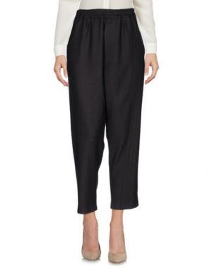 Повседневные брюки MALPH. Цвет: темно-коричневый