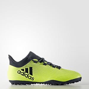 Футбольные бутсы X Tango 17.3 TF  Performance adidas. Цвет: желтый