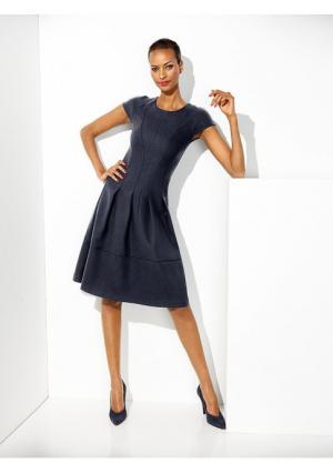 Моделирующее платье Class International. Цвет: желтый, королевский синий, темно-синий, черный, ярко-розовый