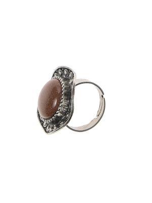 Кольцо Migura. Цвет: коричневый, серебристый