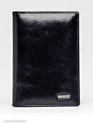 Обложка для паспорта Malgrado. Цвет: черный