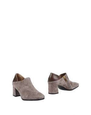 Ботинки HÉCOS. Цвет: голубиный серый