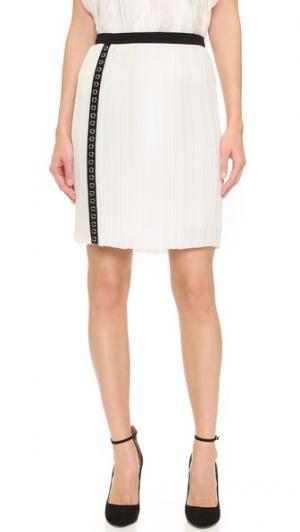 Плиссированная юбка J. Mendel. Цвет: золотой