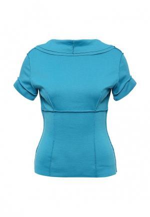 Блуза D.VA. Цвет: бирюзовый