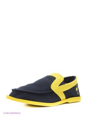Эспадрильи Nexpero. Цвет: синий, желтый