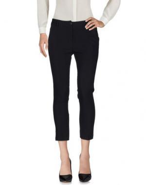 Повседневные брюки ANDREA MORANDO. Цвет: черный