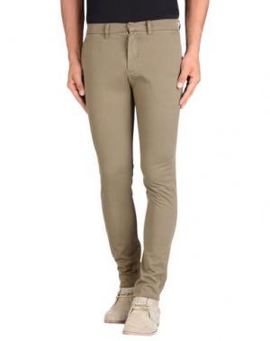 Повседневные брюки HЁLLS BЁLLS. Цвет: хаки