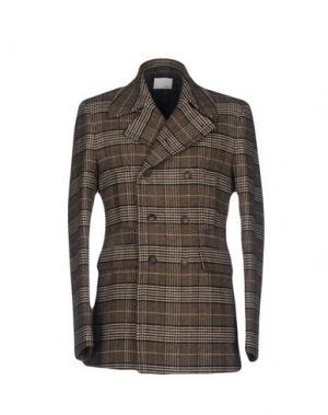 Пальто GUYA G.. Цвет: коричневый