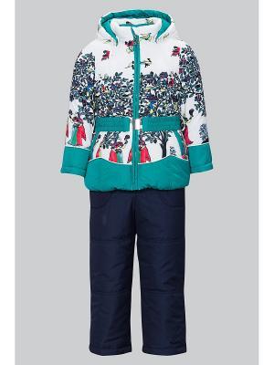 Комплект одежды Bilemi. Цвет: бирюзовый