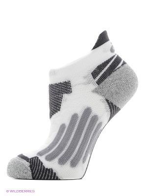 Носки NIMBUS ST SOCK ASICS. Цвет: белый, серый