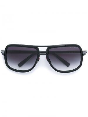 Солнцезащитные очки с круглой оправой Dita Eyewear. Цвет: чёрный