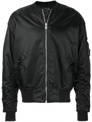 Куртка-бомбер Misbhv. Цвет: чёрный