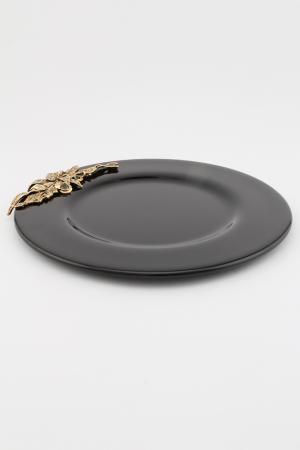 Блюдо, диаметр -  31 I Pavoni. Цвет: черный