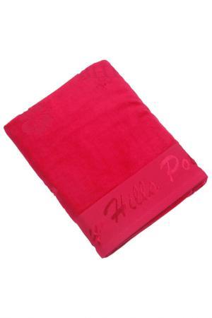 Банное полотенце, 80х150 Beverly Hills Polo Club. Цвет: красный