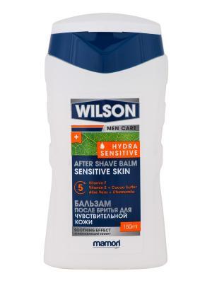 Успокаивающий бальзам после бритья Wilson Men Care Hydra Sensitivдля чувствительной кожи,  2 шт. Цвет: белый