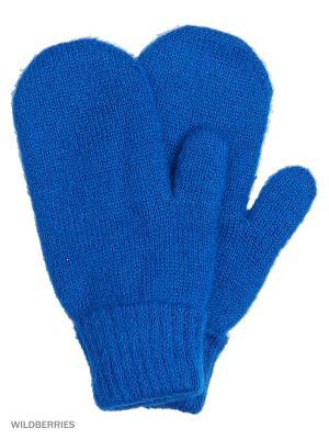 Варежки Vittorio Richi. Цвет: голубой