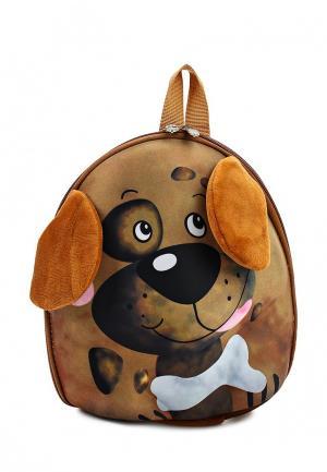 Рюкзак Kenka. Цвет: коричневый