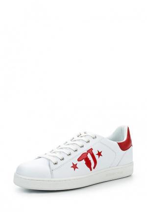 Кеды Trussardi Jeans. Цвет: белый