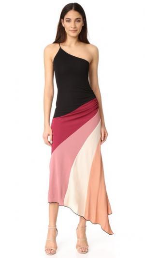 Платье Marthe Jill Stuart. Цвет: черный мульти